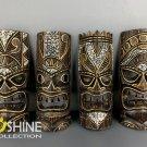 Vintage Wooden Tiki Mask,Wall Decor,Wall Hanging,Maui Wood Carving,Patio Decor,Tribal Mask,Tiki Art