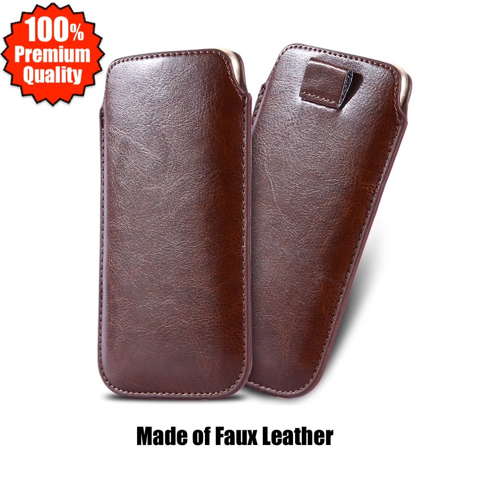 Leather Classic Cover Sleeve Pull-tab Pouch Case For iPhone 12 11 PRO MAX XR XS SE Plus 8 7 6 5