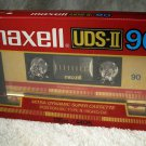 Maxell UDS-II 90 Minute Audio Cassette Tape New