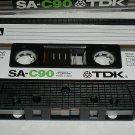 TDK SA-C90 Audio Cassette Tape Super Avilyn Cassette