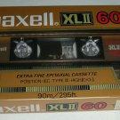 Maxell XLII 60 Minutes Audio Cassette High Bias NEW