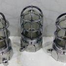 Vintage Style New Solid Cast Aluminum Passageway Bulkhead Ship Mount Blast Proof Light 5 Pieces