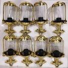 Nautical Sconce Ship Spotlight Perko Lantern Brass New Light 8 Pieces