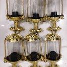 Nautical Sconce Ship Spotlight Perko Lantern Brass New Light 6 Pieces