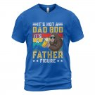 Its Not A Dad Bod Its A Father Figure Short Sleeve T-shirt Blue Tee