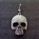Men Silver Skull Head Navel Ring