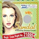 Sandal Whitening Cream