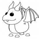 Dragon (Neon Fly Ride) Coloring Page