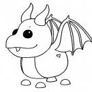 Dragon (Neon Ride) Coloring Page