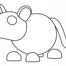 Golden Rat (Neon Fly Ride) Coloring Page