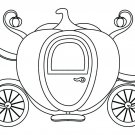 Pumpkin Carriage Coloring Page
