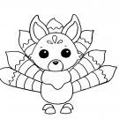 Kitsune NR Coloring Page