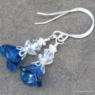 Blue Angels... Sterling Silver Earrings, Sweet and Petite!