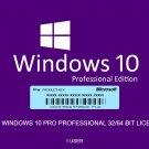Windows 10 Pro 32/64 bit - key