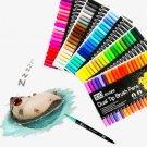 Watercolor pen highlighter pen