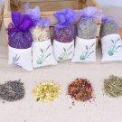 Natural Dried Flowers Rose Jasmine Lavender Bud Flower Sachet Bag Filling Air Refreshing