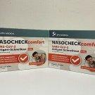 10 X LEPU MEDICAL NASOCHECK COMFORT ANTIGEN LAYER QUICK TEST - INDIVIDUALLY PACKED