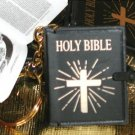 HOLY BIBLE MINIATURE KEYCHAIN / NECKLACE CHARM GIFT