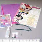 POWERPUFF GIRLS BLOSSOM'S PERFUME & DESK ART CRAFT KIT