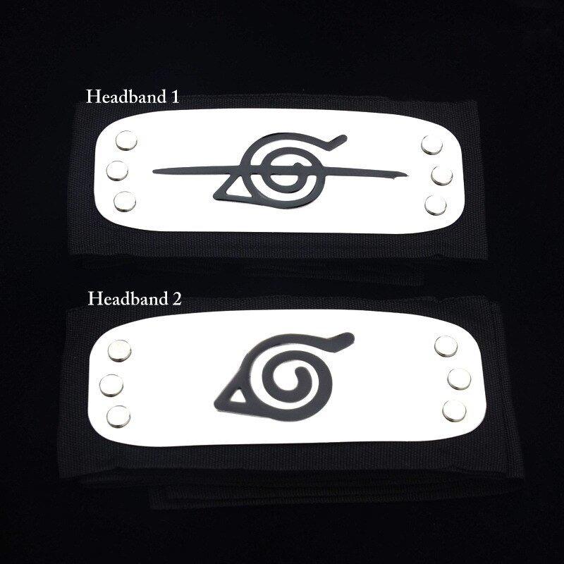 Naruto Headband Black Color Anime Shippuden Itachi Kakashi Akatsuki Uchiha