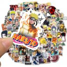 50pcs Naruto Stickers Pack Waterproof Sticker Laptop Skateboard Guitar Decal Birthday Gift