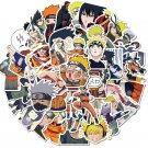 50Pcs Anime Naruto Stickers Pack Sasuke Itachi Akatsuki Laptop Sticker Gift For Kids