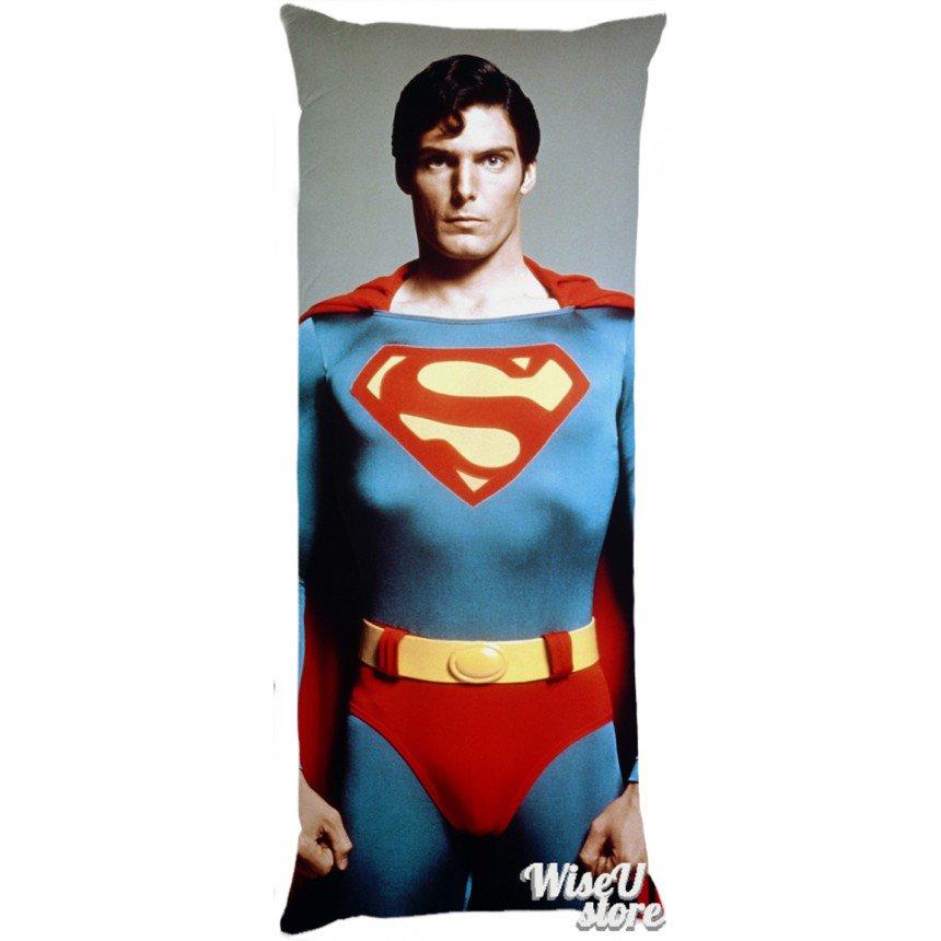 CHRISTOPHER REEVE AS SUPERMAN Dakimakura Full Body Pillow case Pillowcase Cover