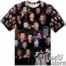 Rick Astley T-SHIRT Photo Collage shirt 3D