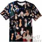 ELVIRA MISTRESS OF THE DARK T-SHIRT Photo Collage shirt 3D