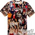 Saffron Bacchus T-SHIRT Photo Collage shirt 3D