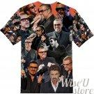 George Michael T-SHIRT Photo Collage shirt 3D