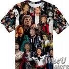 Mick Jagger T-SHIRT Photo Collage shirt 3D