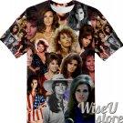 Raquel Welch T-SHIRT Photo Collage shirt 3D