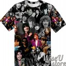 George Harrison T-SHIRT Photo Collage shirt 3D