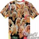 Christina Aguilera T-SHIRT Photo Collage shirt 3D