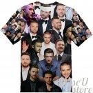 Justin Timberlake T-SHIRT Photo Collage shirt 3D