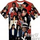 MICHAEL JACKSON T-SHIRT Photo Collage shirt