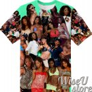 Jasmine Webb T-SHIRT Photo Collage shirt 3D