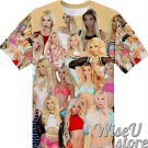 Kenzie Reeves T-SHIRT Photo Collage shirt 3D