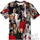 EMINEM T-SHIRT Photo Collage shirt 3D