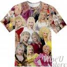 Dolly Parton T-SHIRT Photo Collage shirt 3D