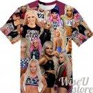 LIV MORGAN T-SHIRT Photo Collage shirt 3D