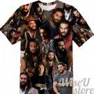 Jason Momoa T-SHIRT Photo Collage shirt 3D