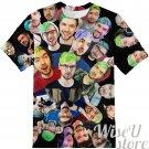 JackSepticEye T-SHIRT Photo Collage shirt 3D