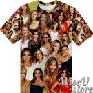 Jessica Alba T-SHIRT Photo Collage shirt