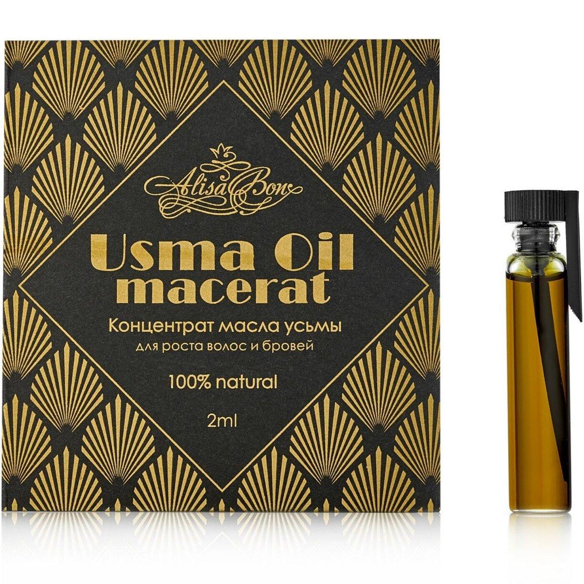 """""""""""AlisaBon"""" Usma oil concentrate for hair and eyebrow growth """" Usma Oil macerat"""""""