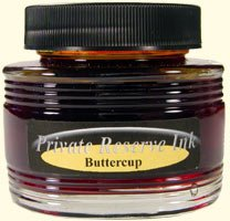 Buttercup Private Reserve Bottled Ink