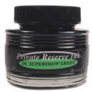 DC Super Show Green Private Reserve Bottled Ink