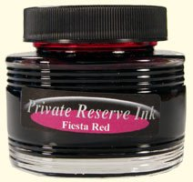 Fiesta Red Private Reserve Bottled Ink