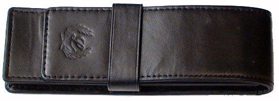 Laban Genuine Leather Double Pen Pouch